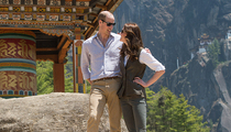 Prince William & Kate Middleton -- Nestle Tiger's Nest (PHOTOS)