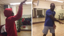 Odell Beckham -- Crashes Von Miller's Dance Party ... Lemme Teach You Some Moves (VIDEO)