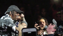 Travis Scott Gives Fan the Pass ... White Guy Raps N-Word in Concert!  (VIDEO)