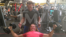 Arnold Schwarzenegger -- Meet My Son Joseph ... He's Awesome!!! (PHOTOS)