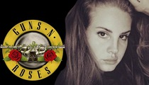 Guns N' Roses -- Lana Del Rey in With the Band ... But NOT Opening Act (PHOTO)