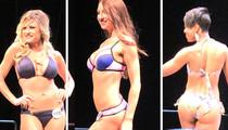 Rams Cheerleaders -- Hot Bikini Showdown ... At Final Tryouts (VIDEO)