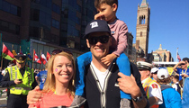 Tom Brady -- Props to Boston Marathon Survivor ... 'She's My Inspiration' (PHOTO)
