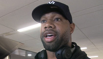 NFL's Marcedes Lewis -- Michael Strahan's an Inspiration ... I Wanna Be Like Him (VIDEO)