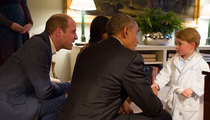 President Obama Meets Prince George ... Let's Talk 1776, Kid! (PHOTO)