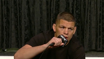 Nate Diaz -- 'Conor Got His Ass Beat' (VIDEO)