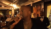 Kanye West -- 'Imma Let You Finish' Speech Interrupts Friend's Wedding (VIDEO)