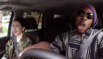 Richard Sherman -- Undercover Lyft Driver ... Hilariously Clowns Himself (VIDEO)