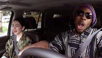 Richard Sherman -- Undercover Lyft Driver ... Hilariously Clowns Himself (VIDEO)