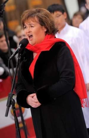 Susan Boyle -- Singing Snapshots