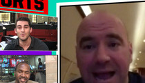 Dana White -- The Hatred Is Real ... Jones, Cormier Beef Is No P.R. Stunt