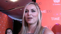 Lindsey Vonn -- Tiger Is a Damn Good Skier (VIDEO)