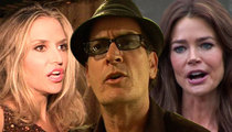 Charlie Sheen: Ex-Wives Powwow for More Child Support