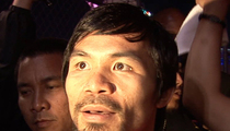 Manny Pacquiao -- Beefs Up Security After Terror Threat ... 'I Had No Idea'