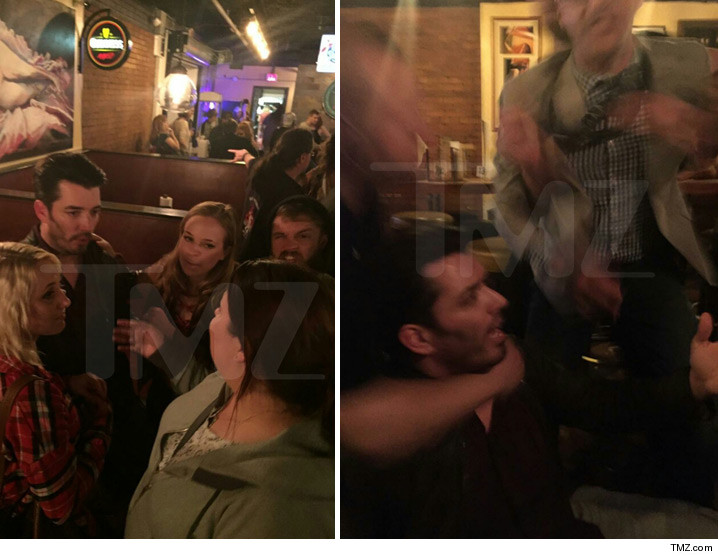 'Property Brothers' Jonathan Scott -- Bouncer Tried a Fixer-Upper ... ON MY FACE! (PHOTOS)
