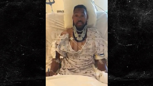 Paralyzed U.S. Olympian -- 'Thank God I'm Still Alive' ... Emotional Hospital Video