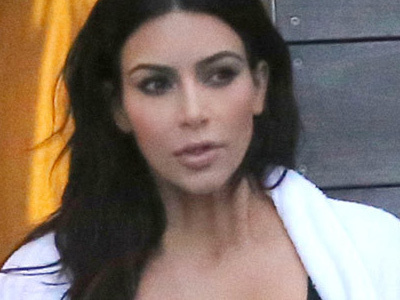 See FIRST Photos of Kim In a SWIMSUIT Since Baby #2 -- She's Dropped SO MUCH Weight!