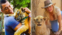 Stars With Exotic Felines ... Happy Caturday!