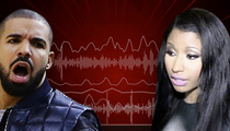 Drake -- I Don't Talk to Nicki Minaj Anymore ... Thanks to Meek Mill (VIDEO)