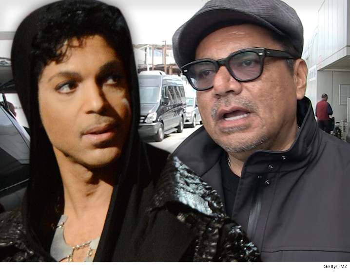 Prince -- George Lopez Helps Family with Big Bucks