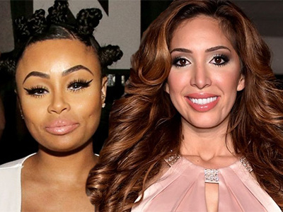 SHOTS FIRED! Farrah Abraham, RACIST, SLAMS Blac Chyna ... for Being BLACK