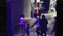 Jay Z -- Spinning Blue Ivy at Beyonce's Show