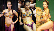Adrianne Curry In Sexy Star Wars Costumes For #WCW