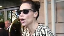 Minnie Driver -- Neighbor War Flares Up!! Cops Have to Break It Up