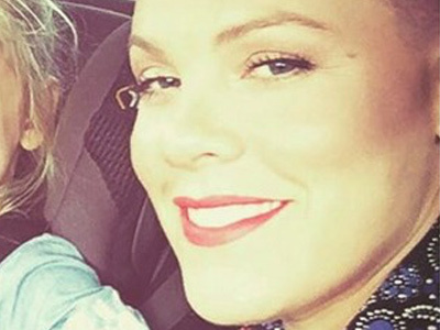 P!nk Shares New Pic of Willow (She's SO BIG!) ... As She Opens Up About Splits with Carey Hart!