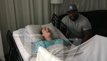 50 Cent Makes House Call for Disabled Super Fan