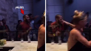 DeMarcus Cousins -- Brother Tased In Club Fight ... Alternate Angle