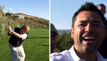 Oscar De La Hoya Praised Trump as 'Great Golfer' ... Smoking Gun Video