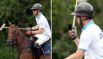 Prince Harry -- Royal Polo Salute ... Someone's #1 (PHOTO)