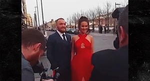 Conor McGregor -- Hits Irish Award Show ...…