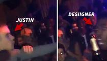 Justin Bieber Shoves Rapper Desiigner -- Minor Scrap Over VIP Feet (VIDEO)