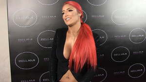 WWE's Eva Marie -- Jacket Holds On for Dear Life