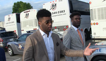 D'Angelo Russell -- Talks Nick Young ... 'Don't Know If We'll Be Friends Again' (VIDEO)