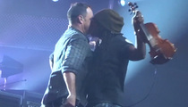 Dave Matthews and Boyd Tinsley -- Let's Kiss It Out, Bro! (VIDEO)