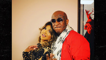 Toni Braxton & Birdman -- Low Key Backstage Hookup ... NOT Their First Rodeo (PHOTO)