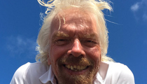 Richard Branson -- I Smashed My Teeth with a Tennis Racket (Pic)