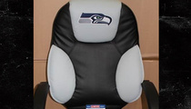 NFL Auction -- Selling Seahawks 'Used Draft Chair'