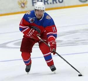 Vladimir Putin on Ice