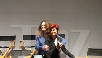 Ozzy & Sharon Osbourne -- Reunited ... At Least for Biz, For Now (VIDEO & PHOTOS)