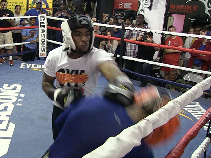 Charlamagne Tha God -- Earning Respek With His Fists ... Sparring With Boxing Star (VIDEO) | TMZ.com