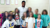 NFL's Greg Hardy -- Hits 5th Grade Class ... I'm Not a Monster! (PHOTOS)