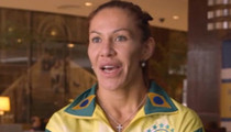 Cris 'Cyborg' Justino -- I Don't Hate Ronda ... But I'll Knock Her Ass Out! (VIDEO)