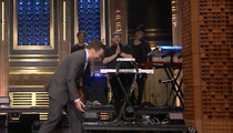 Meghan Trainor -- My Ankle Says NO! Goes Down HARD on 'Tonight Show' (VIDEO)