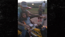 Chris Brown -- Ridin' With Royalty (PHOTO/VIDEO)