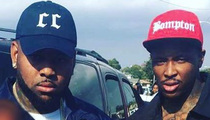 YG & AD -- AK-47 Shots Rip Music Video Set (PHOTOS & VIDEO)