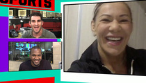 Cris 'Cyborg' Justino -- 'Ronda, Don't Be Scared' ... Fight Me! (VIDEO)